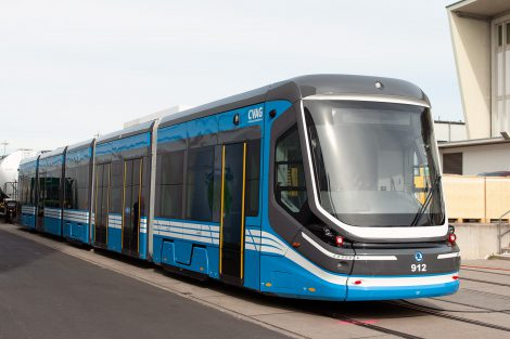 Innotrans 2018, tramvaj ForCity Classic pro Chemnitz, zdroj: Zdopravy.cz/Josef Petrák