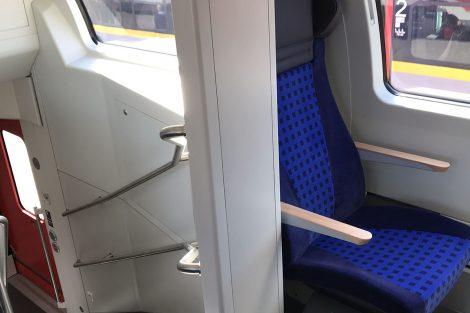 Innotrans 2018, NIM Express, druhá třída vrchní patro, zdroj: Zdopravy.cz/Josef Petrák