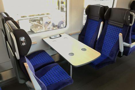 Innotrans 2018, NIM Express, druhá třída spodní patro, zdroj: Zdopravy.cz/Josef Petrák