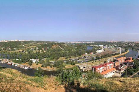 Krajina mezi Prahou 6 a Prahou 8. Pramen: Ropid