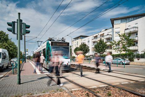 Autonomní tramvaj Siemens Combino v ulicích Postupimi. Foto: Siemens Mobility
