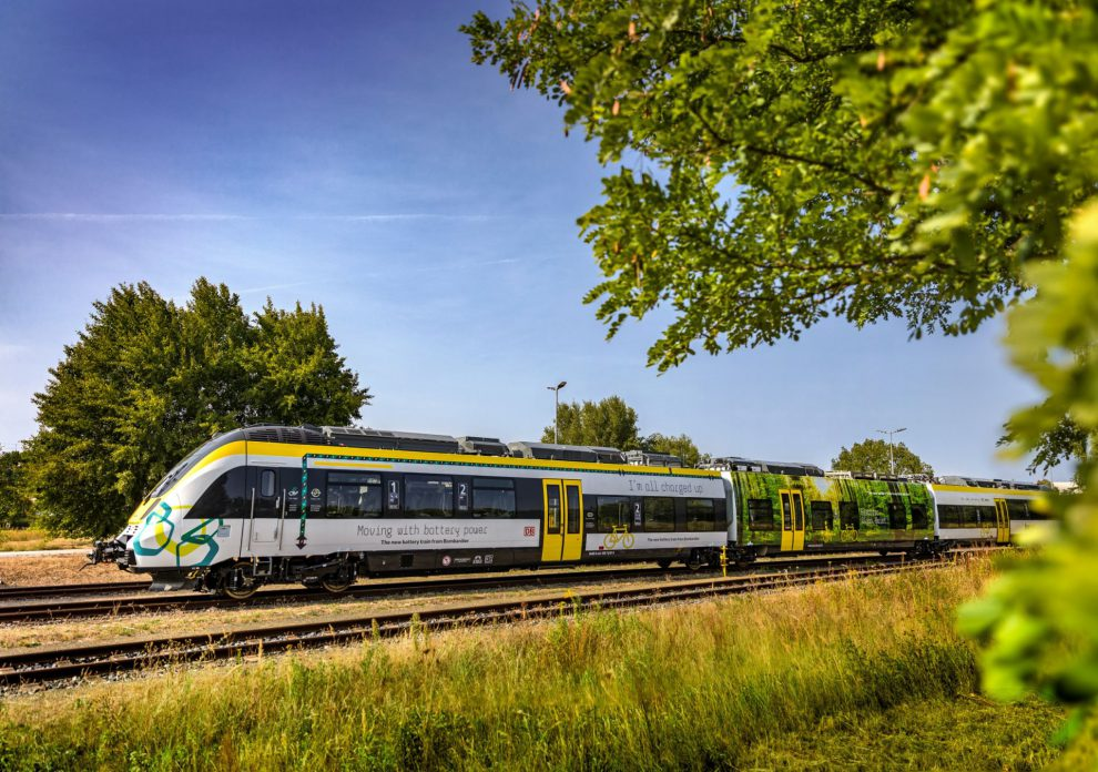 Elektrická jednotka Talent 3 s hybridním pohonem. Foto: Bombardier