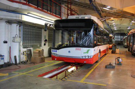 První parcinální trolejbusy zařadil DPMB do flotily letos, jde o vozy Škoda 26 Tr. Foto: DPMB