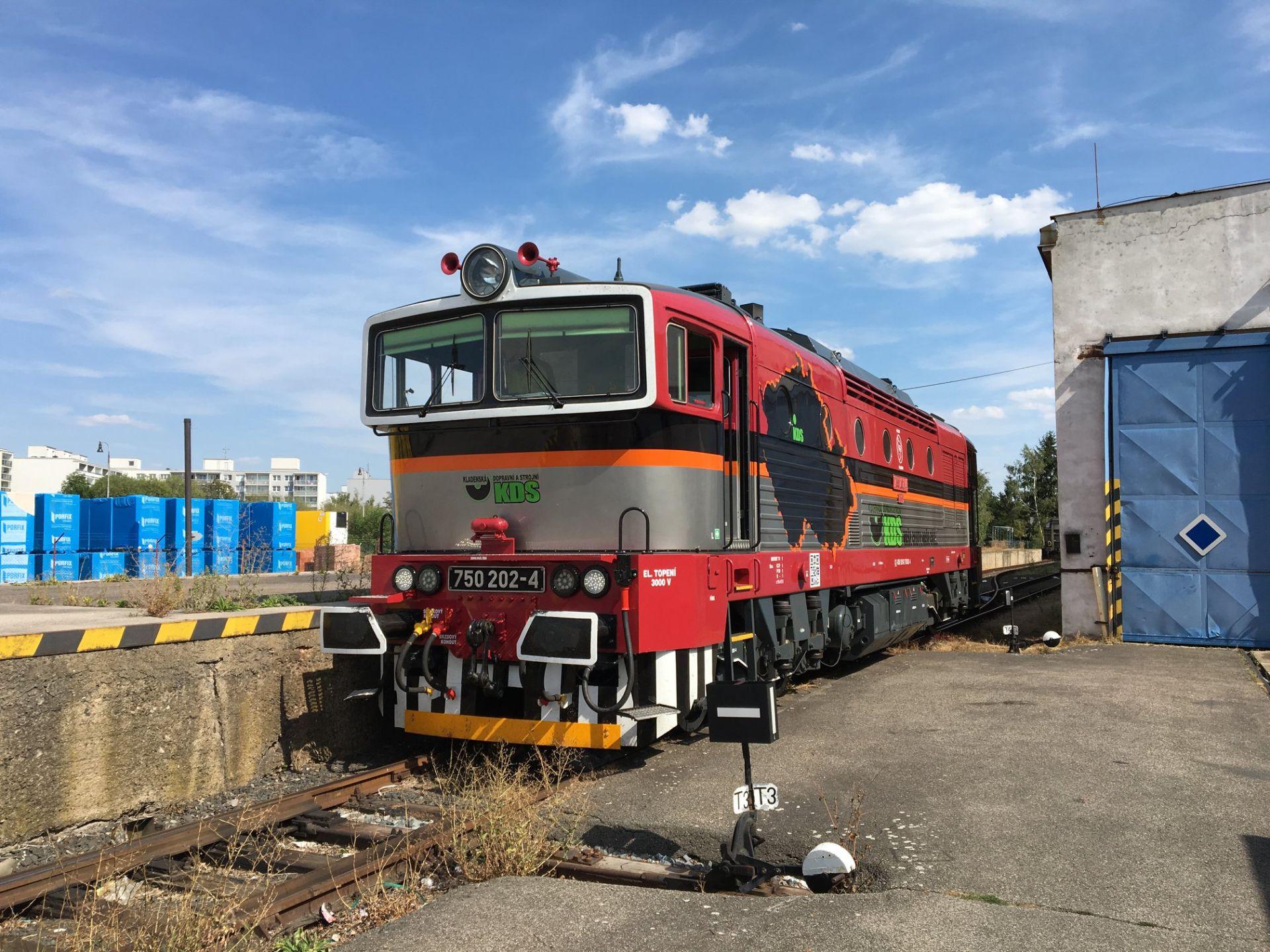 Brejlovec společnosti Kladenská dopravní a strojní. Foto: KDS