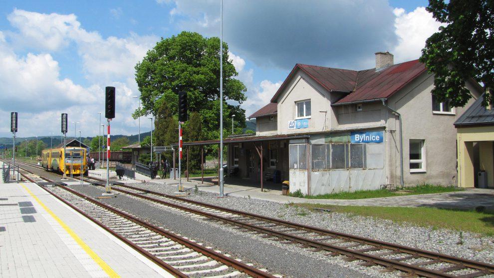 Nádraží Bylnice. Foto: Radek Linner, Wikimedia Commons