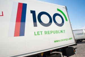 Kamiony C.S. Cargo připomínají sto let republiky. Autor: C.S. Cargo