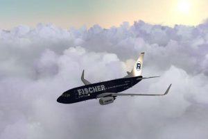 Vizualizace podoby Boeingu 737-700 v barvách air Fischer. Foto: air Fischer