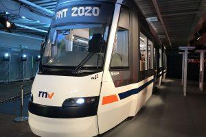 Model nové tramvaje pro dopravní podnik Rhein-Neckar-Verkehr (rnv). Foto: Škoda Transportation