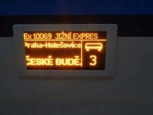 Jižní expres. Autor: Zdopravy.cz/Jan Šindelář