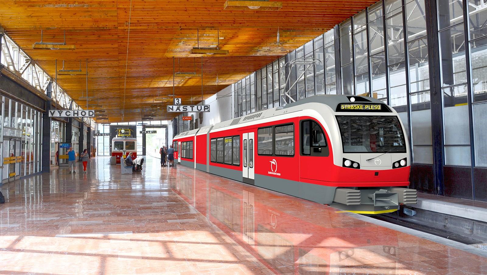 Stadler GTW pro ZSSK, zdroj: Stadler Rail