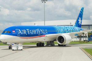 Boeing v Paříží představí Boeing 787-9 v barvách Air Tahiti Nui. Foto: Boeing