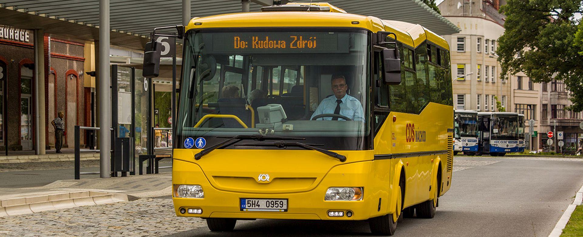 Autobus SOR společnosti CDS Náchod. Foto: CDS