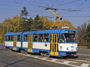 Tramvaj ČKD K2 v Ostravě. Foto: DPO