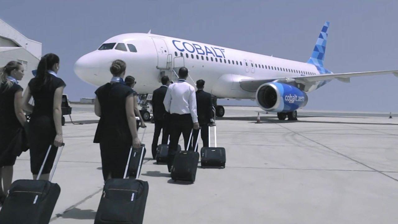 Airbus A319 společnosti Cobalt. Foto: Cobalt
