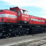 Lokomotiva GE C30-M po modernizaci. Foto: Operail