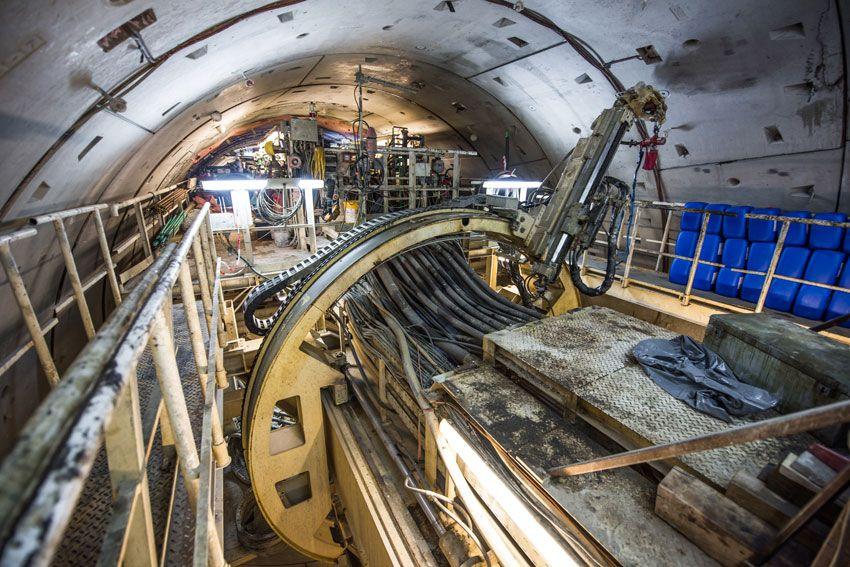 Stavba tunelu na Koralmbahn. Autor: ÖBB/Franz Georg Pikl