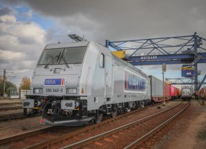 Čtyřicátá lokomotiva Bombardier TRAXX. Foto: L. Vosáhlo/Metrans