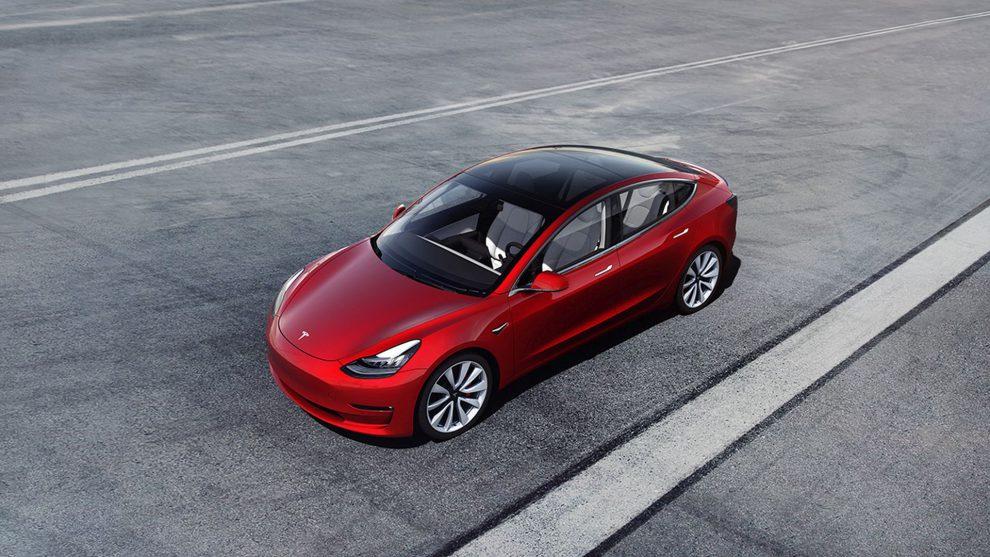 Tesla Model 3. Foto: Tesla