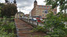 Most, Zábrdovická ulice, Brno. Pramen: Kopemezabrno.cz