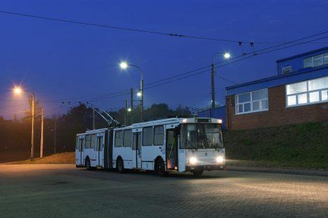 Trolejbus Škoda 15 Tr. Foto: Libor Hinčica