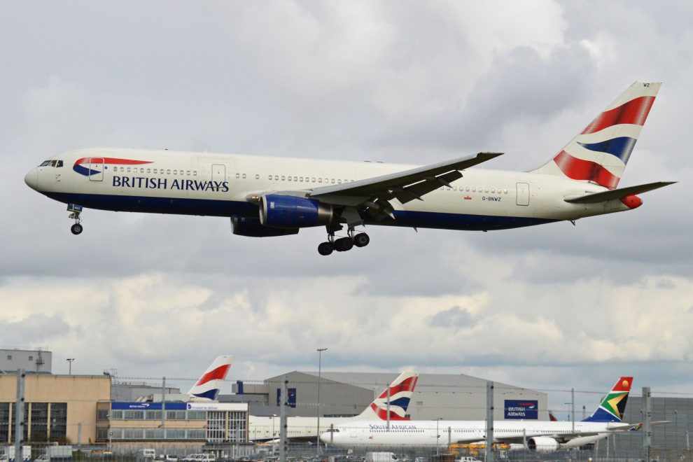 Boeing 767-300 společnosti British Airways. Foto: Alan Wilson/Wikimedia Commons