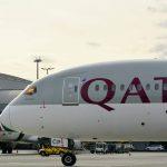 Boeing 787 Dreamliner společnosti Qatar Airways v Praze. Foto: Michael Holeček