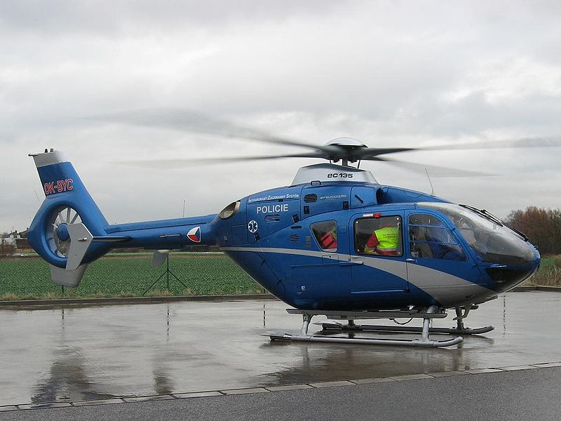 Vrtulník EuroCopter 135, nyní pojmenovaný jako H135. Foto: Ondřej Mrňálek, www.zachrannasluzba.cz