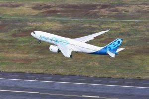 První let A330-800. Foto: Airbus