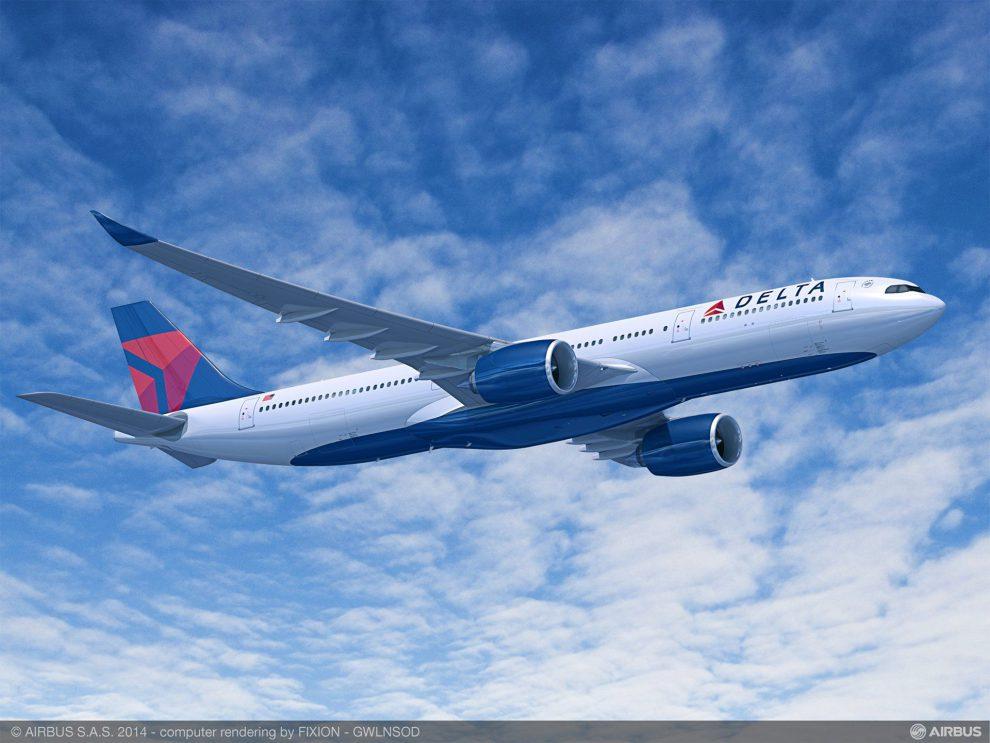 Airbus A330-900 v barvách Delta Air Lines. Foto: Airbus