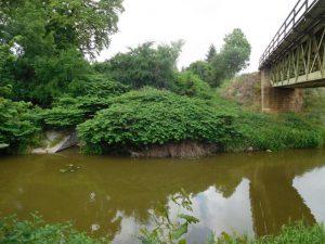 Železniční most přes Cidlinu. Pramen: SŽDC, dokumentace EIA