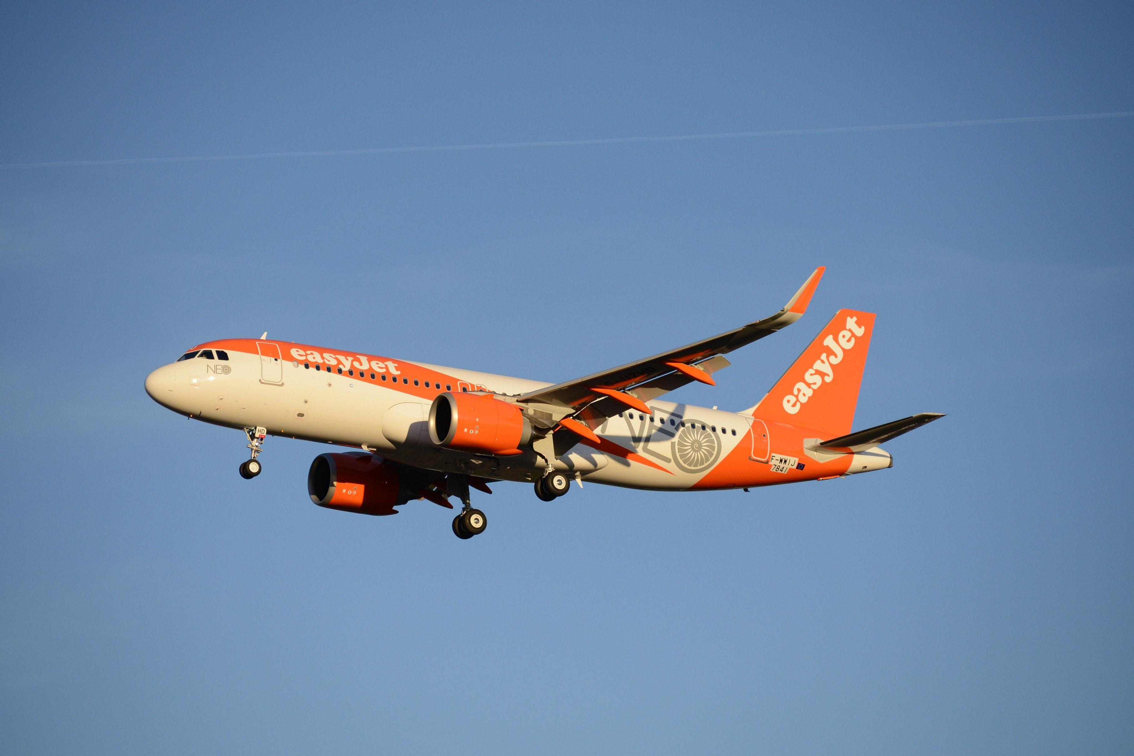 Airbus A320neo v barvách easyJet. Foto: Airbus