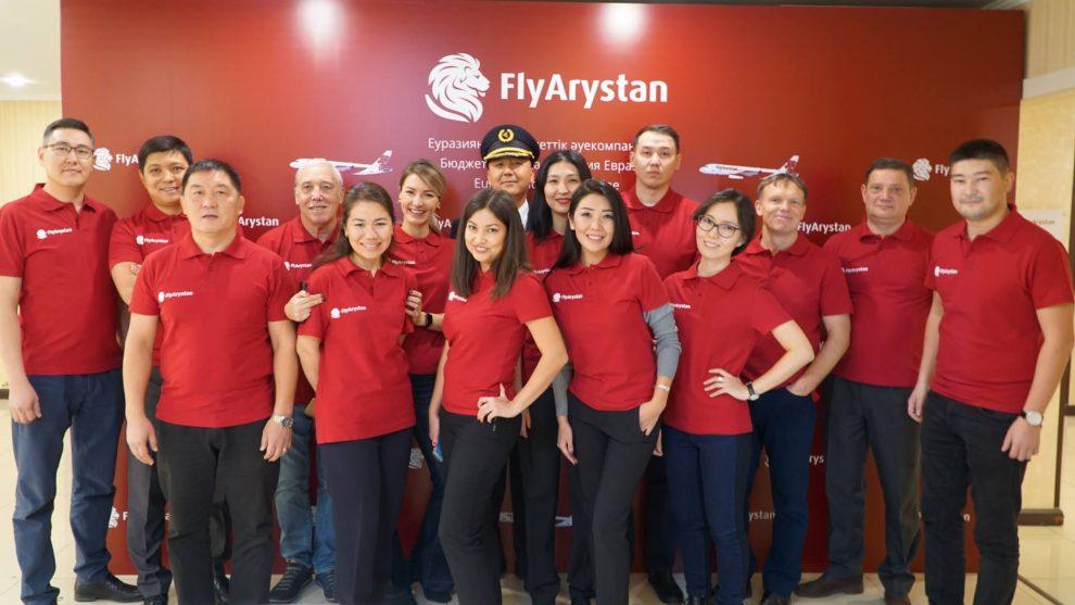 Představení nové aerolinky FlyArystan. Pramen: Air Astana