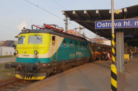 První bobina firmy Arriva na vlaku RegioJetu. Autor: Jan Paroubek