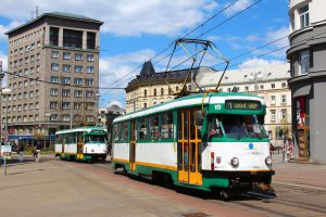 Tramvaj T2R v Liberci. Foto: DPMLJ