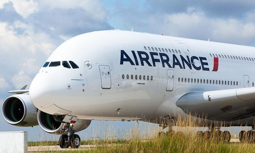 A380 v barvách Air France. Foto: Air France