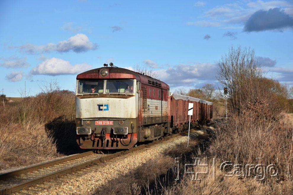 Lokomotiva řady 749 společnosti ČD Cargo. Foto: ČD Cargo
