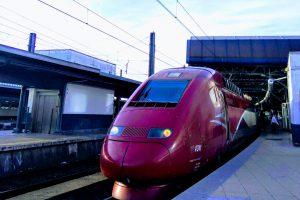 Thalys je společný podnik francouzských, belgických a německých státních drah. Foto: Jan Sůra