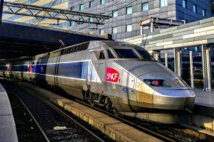 TGV na bruselském nádraží Midi. Foto: Jan Sůra