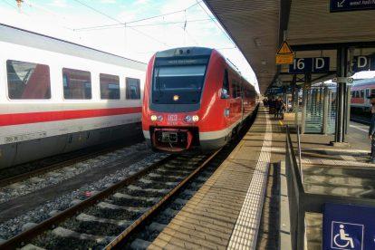 Motorová jednotka 612 Deutsche Bahn v Norimberku. Foto: Jan Sůra