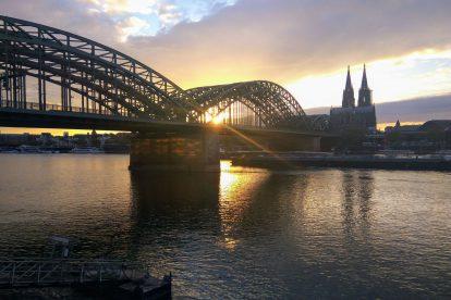 Železniční most přes Rýn v Kolíně nad Rýnem. Foto: Jan Sůra