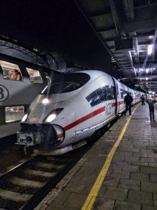 ICE z Kolína nad Rýnem po příjezdu do Bruselu. Foto: Jan Sůra