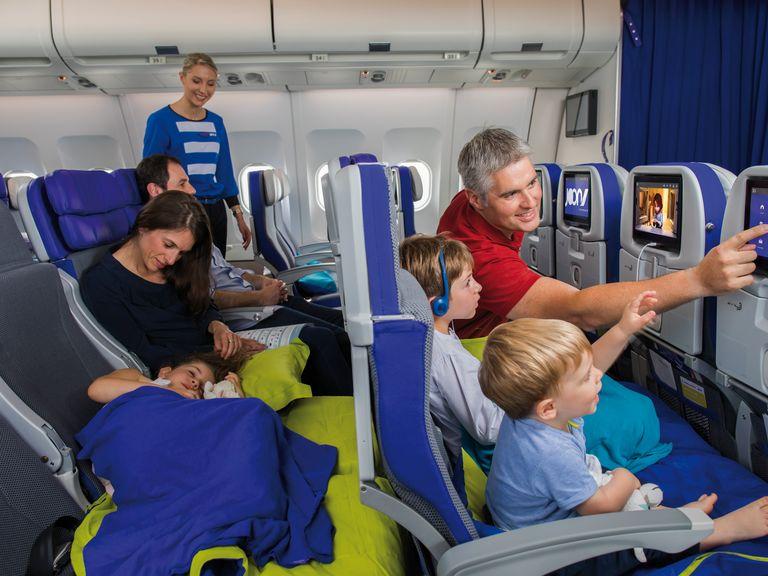 Nová třída Cosy Joon na palubách Airbusu A340 společnosti Joon. Foto: Joon