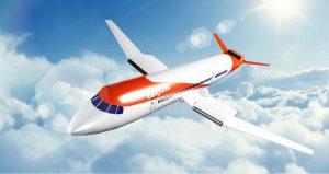 Vizuál elektrického letadla. Pramen: easyJet