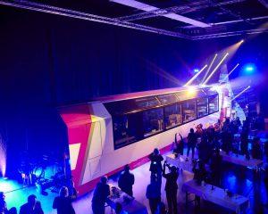 Slavnostní roll out nového vozu s třídou Excellence. Foto: Glacier Express