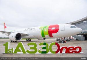 Předání prvního A330-900. Foto: Airbus