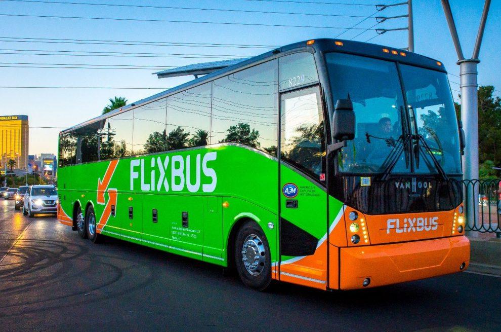 Flixbus v Las Vegas. Foto: FlixBus