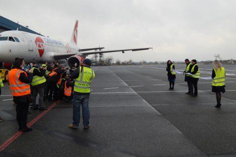 Slavnostní otevření hangáru na Letišti Praha. Autor: Zdopravy.cz/Jan Šindelář