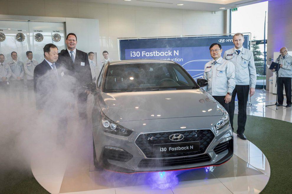 Hyundai i30 FastbackN. Foto: Hyundai
