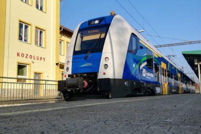 RegioPanter v Kozolupech. Foto: České dráhy