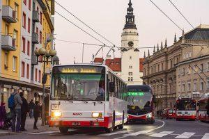 Rozlučková akce s trolejbusy Škoda 14Tr v Opavě. Foto: Viktor Karvanszki / www.nejenostravskevikendy.cz